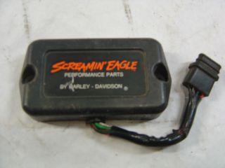 Harley Screamin Eagle 32421 85A ignition module evo 8000 rpm black box