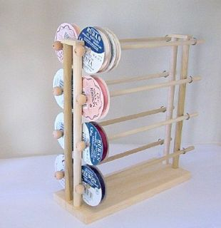 Super Scrapbook Ribbons Holder Storage Rack Organizer 150 Spools