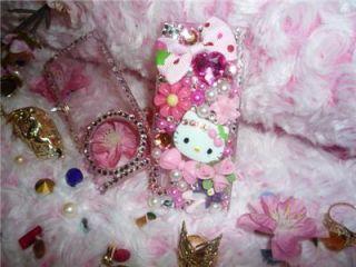 Hello Kitty iPod Case Nano 5th Generationcrystals