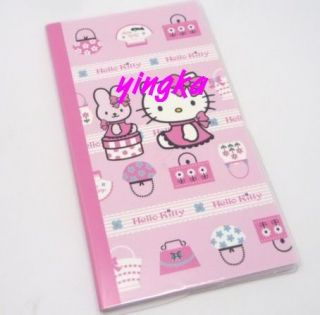 Hello Kitty Diary Schedule Weekly Planner Pink