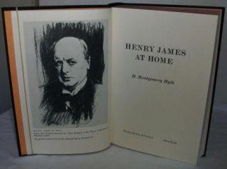 Vintage H Montgomery Hyde Henry James Book Illustrated HB DJ 1st US