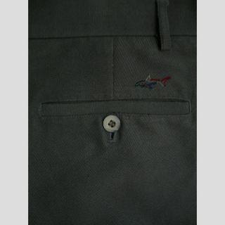 Greg Norman Mens Microfiber Pleat Golf Pants Olive 36 Cuff