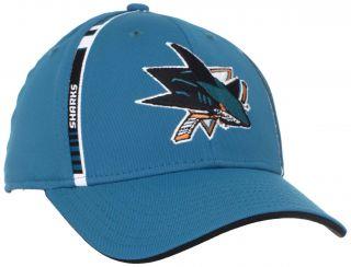 San Jose Sharks Reebok Structured Flex Fit Hat M085Z sz S/M
