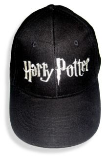 Harry Potter Logo Embroidered Cap Deathly Hallows Hat