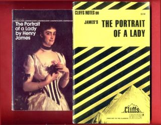 Portrait of a Lady by Henry James & Cliff Notes study guide   Free