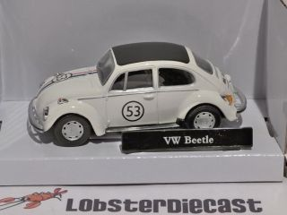 Volkswagen Beetle Herbie 1 43 Scale Model Cararama