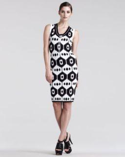B23HV Altuzarra Dust Ikat Print Jersey Dress