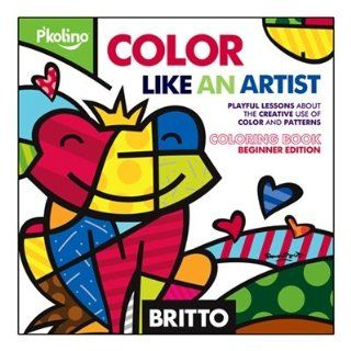 Britto Color Like an Artist   Coloring Book Toys & Games