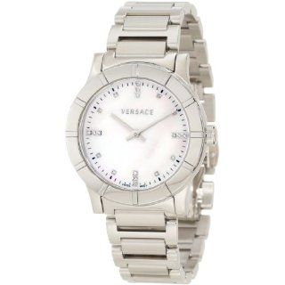 Versace Womens 78Q99SD498 S099 Acron Lady Diamond Watch Watches
