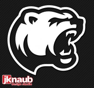 Hershey Bears New 2012 2013 Alternate Logo Vinyl Decal Sticker 4 5X5