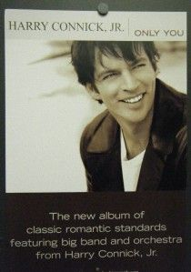 Harry Connick Jr Double Sided Mini Promo Poster Flat Only You 2004