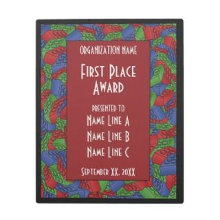 Childrens Toy Art   Building Blocks Award Photo Plaques
