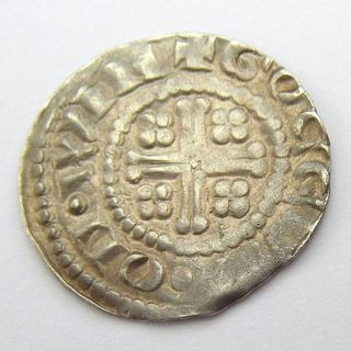 Henry II Hammered Silver Short Cross Penny Gocelm on Win