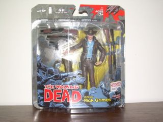 The Walking Dead Officer Rick Grimes Comic Book Series 1 Action Figure