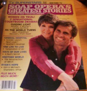 Soap Operas Greatest Stories July 1981 Daytime Hays