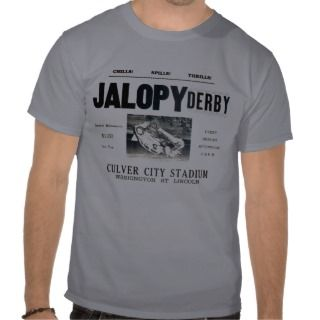 Jalopy Derby ee Shirs