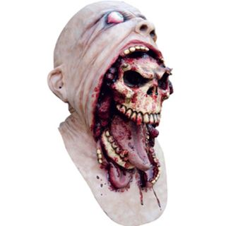 Scary Skull Gross Horror Mask Halloween Costumes Adult