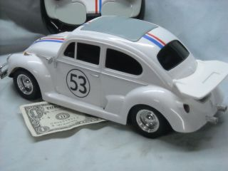 HERBIE THE LOVE BUG V W REAL CLEAN N WORKS GREAT FULLY LOADED