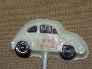 Herbie The Love Bug Volks Wagon Chocolate Lollipops Fav
