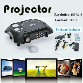 HDMI Home Theater Projector Meeting Display Device DVD AV TV USB SD AC