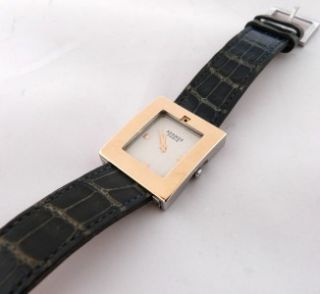 Authentic Ladies Hermes Belt Watch. Nice Condition Two Bands. Great