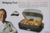 Wolfgang Puck Electric Deep Skillet Roaster Frying Pan