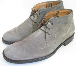 Murphy Mens Shoes Gray Suede Headley Chukka Boots Size 8 5 M