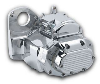 Polished Ultima 6 Speed LSD Transmission for Harley Softail 91 99 and