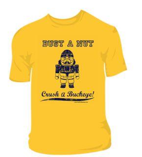 Hate Ohio State Funny Michigan Football Smack Shirt