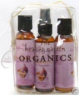The Healing Garden Fig Lavender Body Essentials Kit
