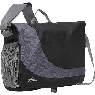 High Sierra Chip Laptop Messenger Bag   Black/Charcoal