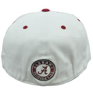 NCAA Top of The World Alabama Crimson Tide One Size Flex Fit Flat Bill