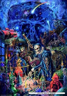 picture 1 of Heye 1000 pieces jigsaw puzzle Alchemy Gothic   Sciences
