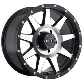 Gear Alloy Overdrive 20x9 Black Wheel / Rim 6x5.5 with a 18mm Offset