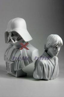 star wars plaster statue collection 4p han solo skywalker proncess