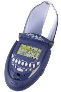 Radica Lighted Solitaire Electronic Handheld Game
