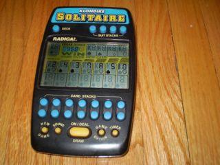 Radica Klondike Solitaire Electronic Handheld Game