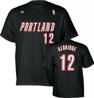 Name and Number Portland Trail Blazers T Shirt