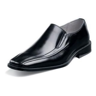 Stacy Adams Hillman Mens Black Leather Shoe 24199 01