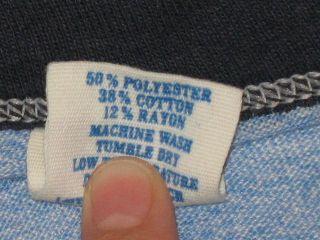 Tri Blend Power of Mac Ringer T Shirt Medium Heather Soft Thin