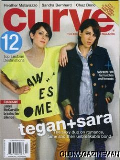 Magazine March 2012 Tegan Sara Heather Matarazzo Chaz Bono