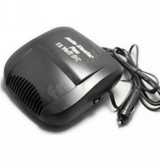 Portable Ceramic Heater Heating Cooling Fan Defroster Black