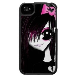 Perfect phone cover for girls who love anime, cartoons and gothic/emo