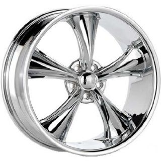 Boss 338 18 Chrome Wheel / Rim 5x5 with a 2mm Offset and a 82.80 Hub