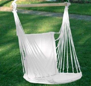 Chair Hammock Cushion Seat Back Yard Porch Rocking Patio Swing