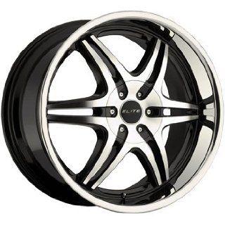 Elite Sport Six 20x8.5 Black Wheel / Rim 6x135 & 6x5.5 with a 25mm