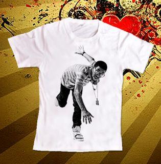 Kid Cudi Hip Hop Pop CD Music Lil Wayne T Shirt Sz S