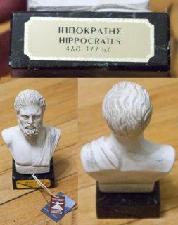 Hippocrates Figurine GREEK Sculpture Statue