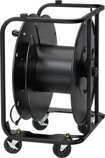 Hannay AVD Large Cable Reel Connector Plate Side Panel w Casters