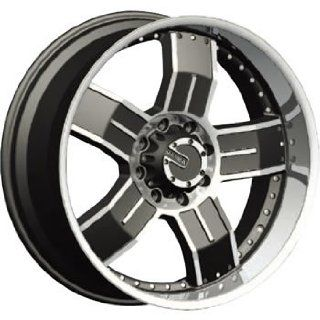 Mamba M8 20x9 Black Wheel / Rim 8x6.5 with a 18mm Offset and a 121.79